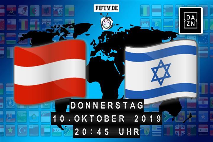 Österreich - Israel Spielankündigung