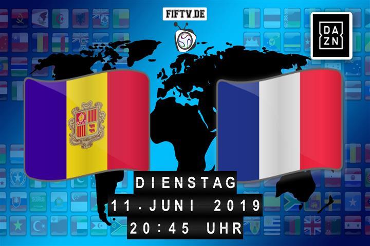 Andorra - Frankreich Spielankündigung
