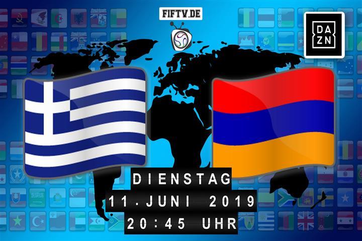 Griechenland - Armenien Spielankündigung