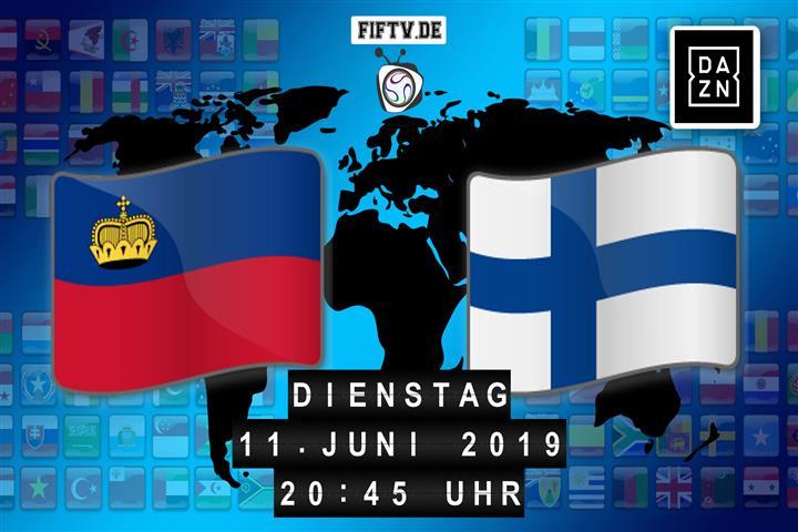 Liechtenstein - Finnland Spielankündigung