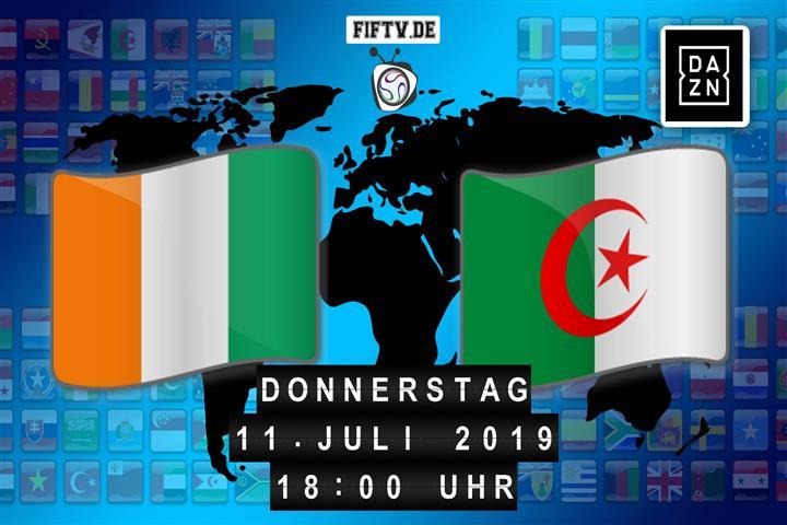 Elfenbeinküste - Algerien Spielankündigung