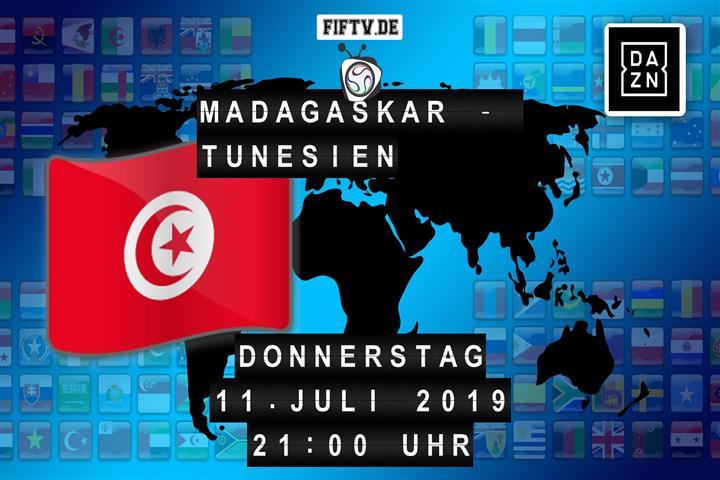 Madagaskar - Tunesien Spielankündigung