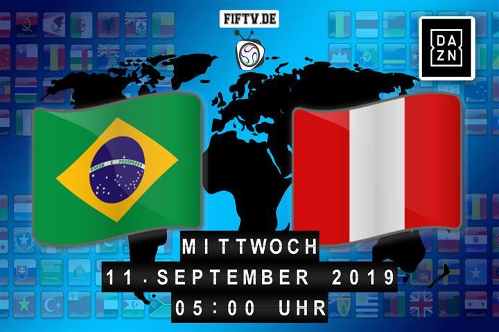 Brasilien - Peru Spielankündigung