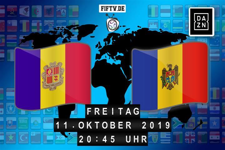 Andorra - Moldawien Spielankündigung