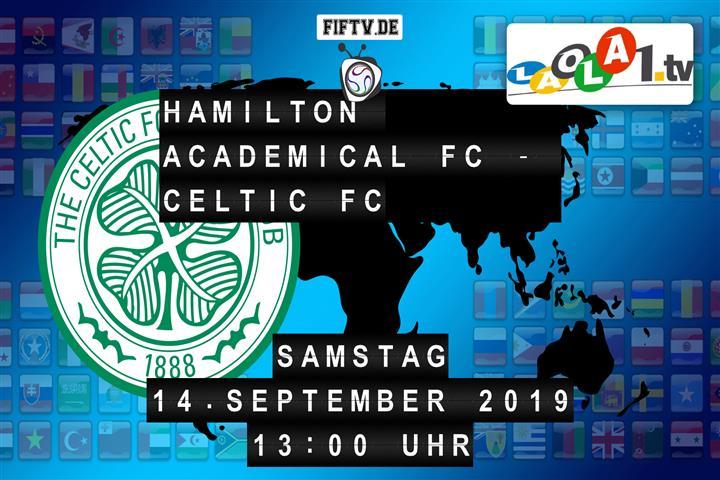 Hamilton Academical FC - Celtic FC Spielankündigung
