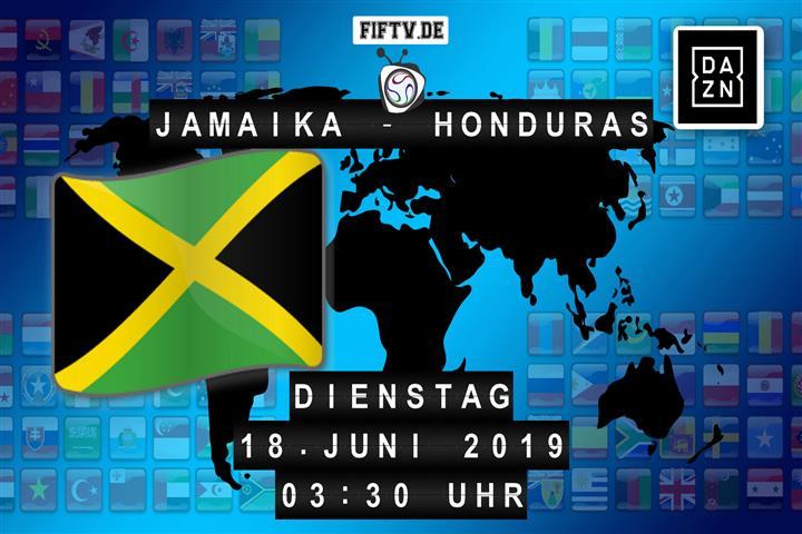 Jamaika - Honduras Spielankündigung