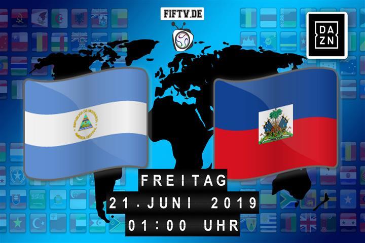 Nicaragua - Haiti Spielankündigung