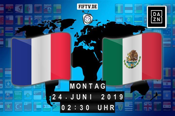Martinique - Mexiko Spielankündigung