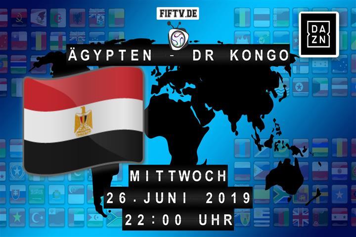 Ägypten - DR Kongo Spielankündigung