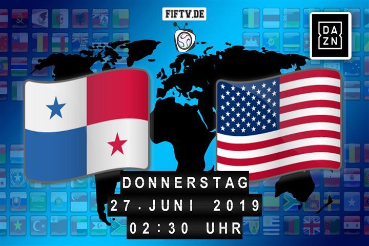 Panama - USA Spielankündigung