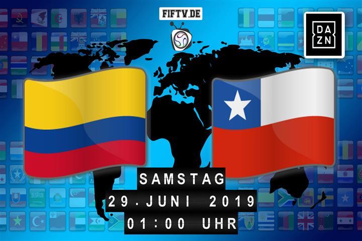 Kolumbien - Chile Spielankündigung