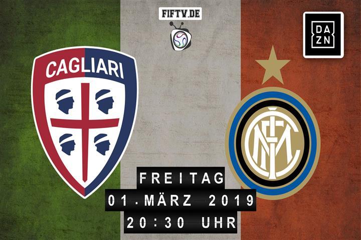 Cagliari - Inter Mailand Spielankündigung