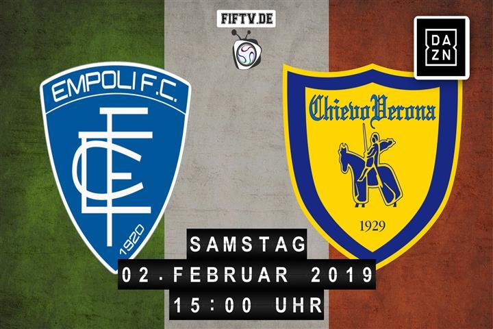 Empoli - Chievo Verona Spielankündigung
