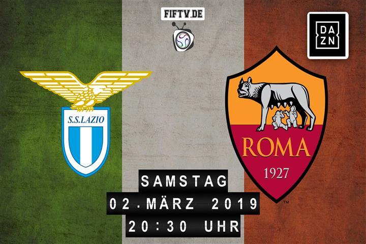 Lazio Rom - AS Rom Spielankündigung