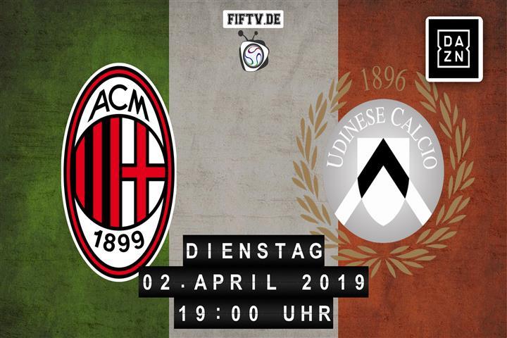 AC Mailand - Udinese Calcio Spielankündigung