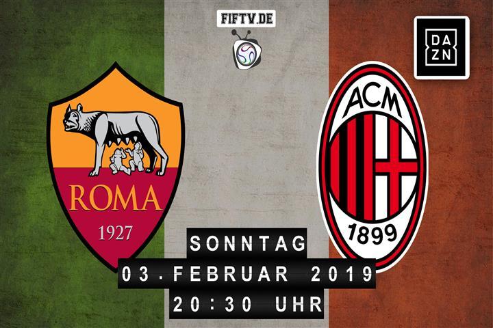 AS Rom - AC Mailand Spielankündigung