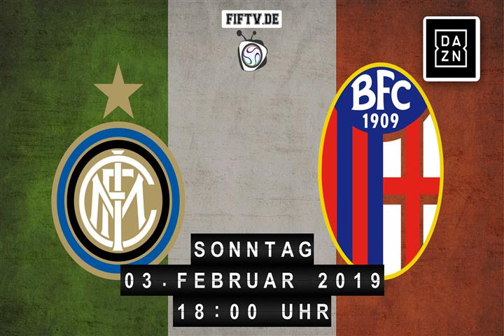 Inter Mailand - Bologna Spielankündigung