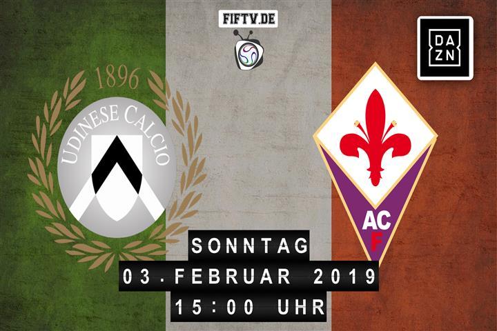 Udinese Calcio - AC Florenz Spielankündigung