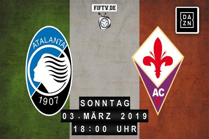 Atalanta Bergamo - AC Florenz Spielankündigung