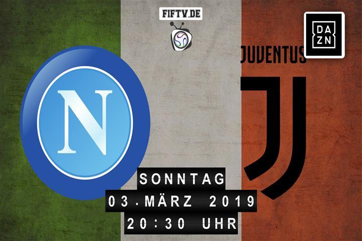 SSC Neapel - Juventus Turin Spielankündigung