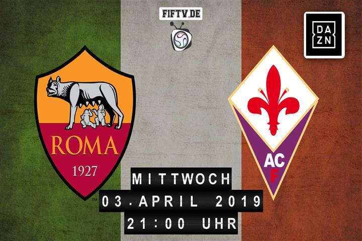 AS Rom - AC Florenz Spielankündigung