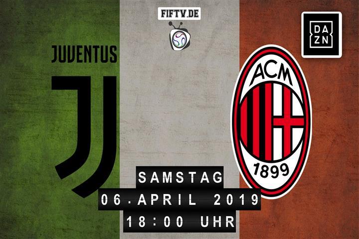 Juventus Turin - AC Mailand Spielankündigung