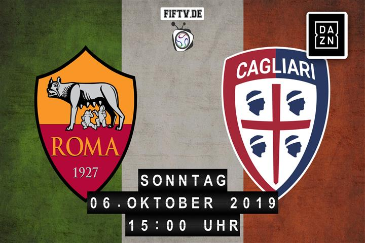 AS Rom - Cagliari Calcio Spielankündigung