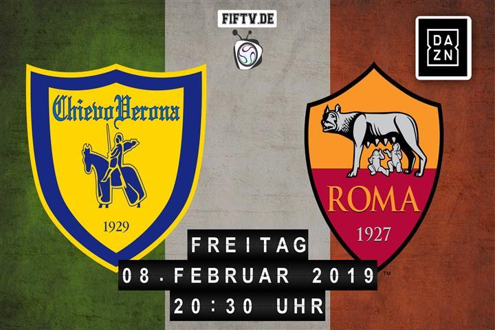 Chievo Verona - AS Rom Spielankündigung