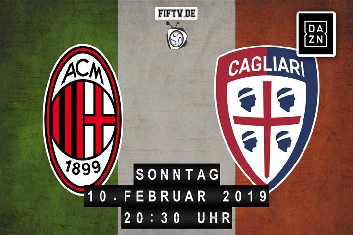 AC Mailand - Cagliari Calcio Spielankündigung