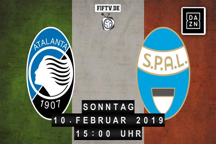 Atalanta Bergamo - SPAL Ferrara Spielankündigung