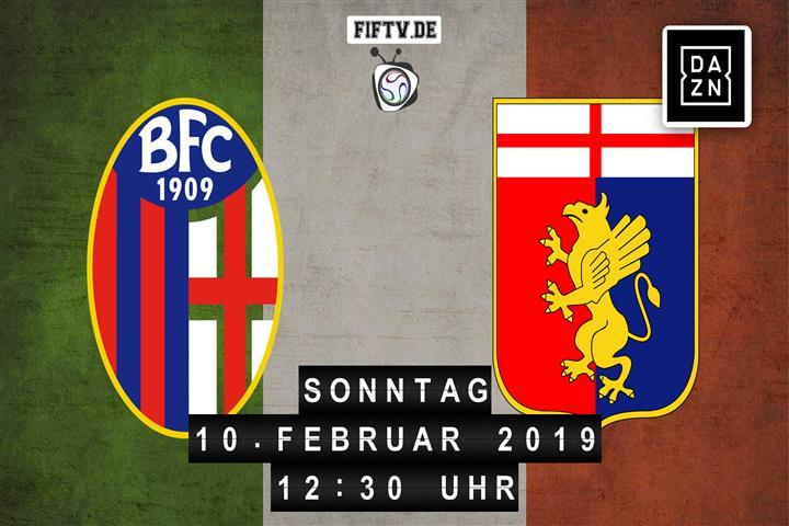Bologna FC - Genua CFC Spielankündigung