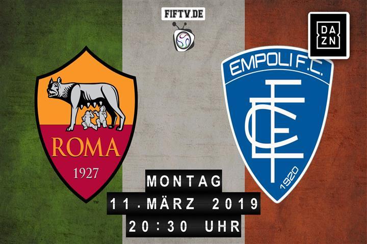 AS Rom - Empoli FC Spielankündigung