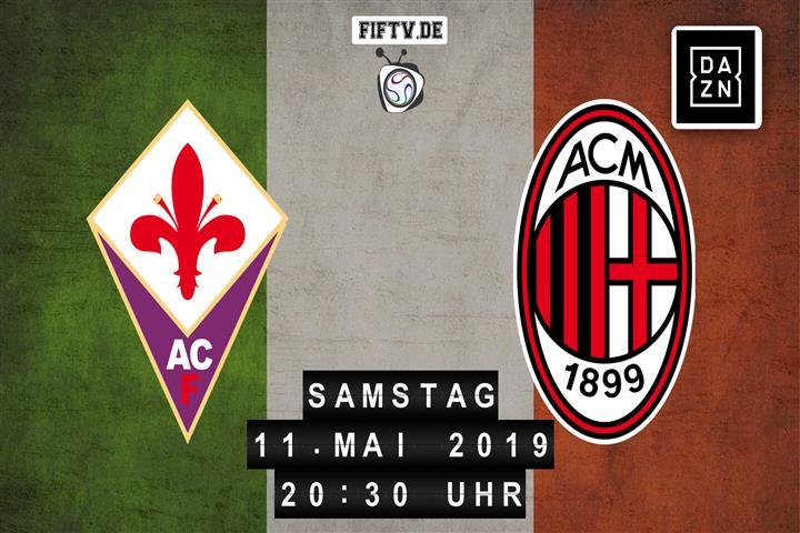 AC Florenz - AC Mailand Spielankündigung