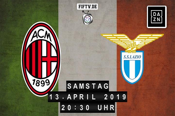AC Mailand - Lazio Rom Spielankündigung