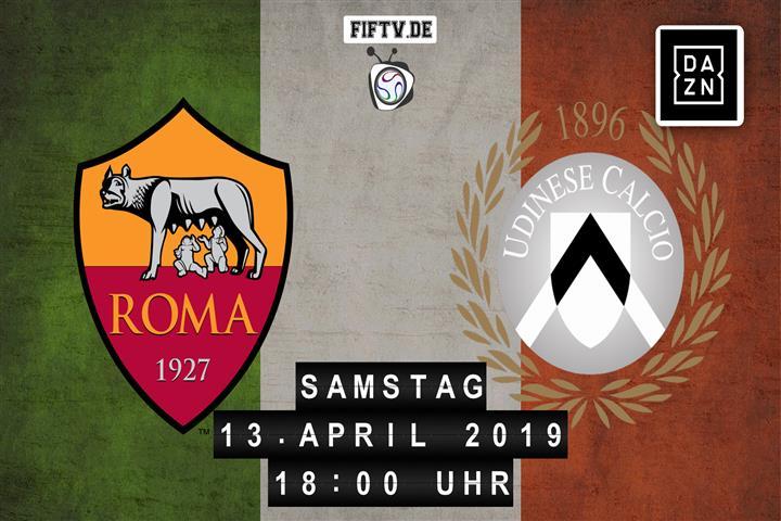 AS Rom - Udinese Calcio Spielankündigung