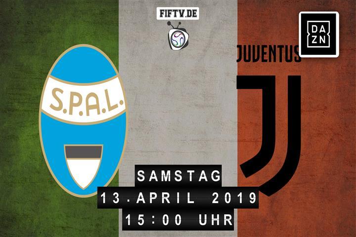 SPAL Ferrara - Juventus Turin Spielankündigung