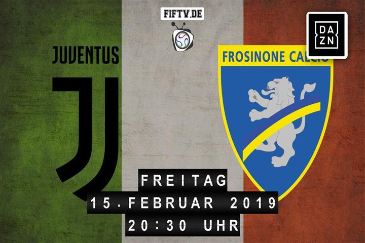 Juventus Turin - Frosinone Calcio Spielankündigung