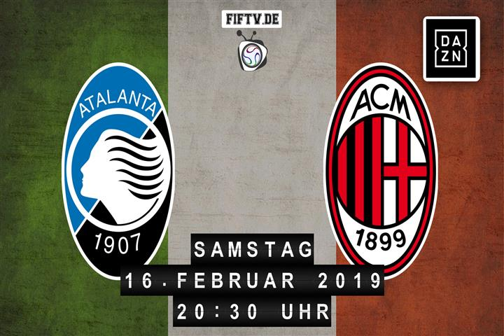 Atalanta Bergamo - AC Mailand Spielankündigung