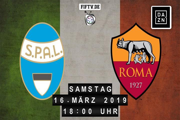 SPAL Ferrara - AS Rom Spielankündigung