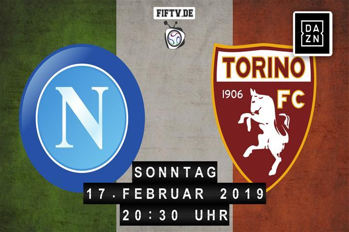 SSC Neapel - Turin FC Spielankündigung