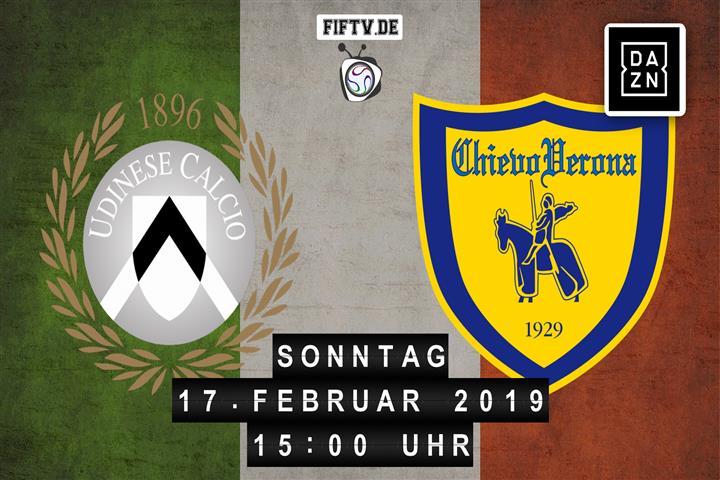 Udinese - Chievo Verona Spielankündigung