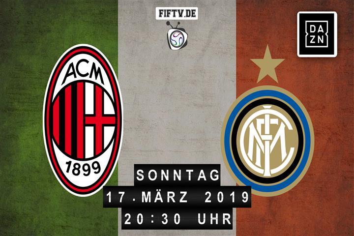 AC Mailand - Inter Mailand Spielankündigung