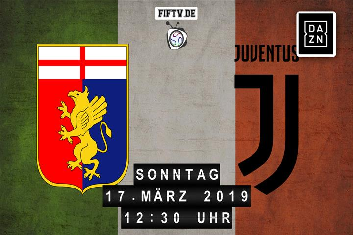 Genua CFC - Juventus Turin Spielankündigung