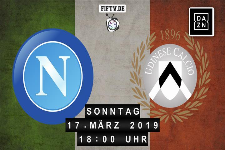 SSC Neapel - Udinese Calcio Spielankündigung