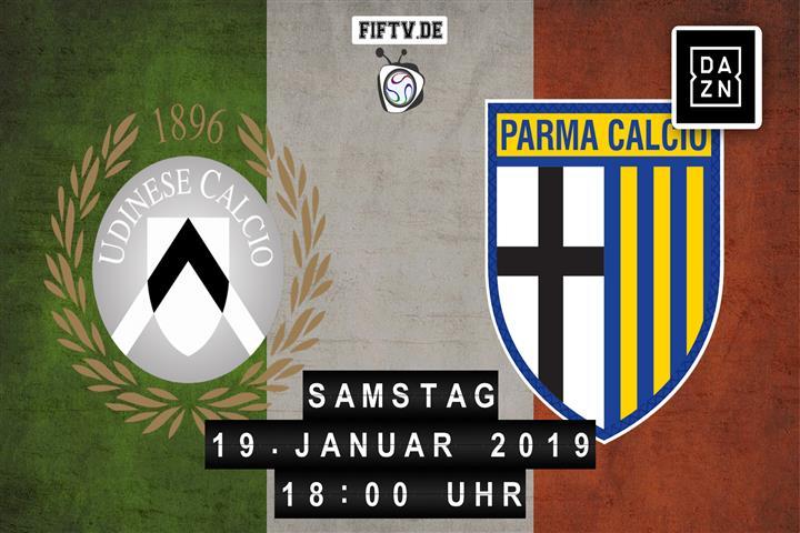 Udinese Calcio - Parma Calcio Spielankündigung