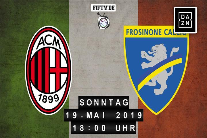 AC Mailand - Frosinone Calcio Spielankündigung