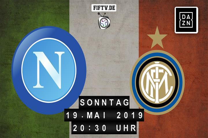 Neapel - Inter Mailand Spielankündigung