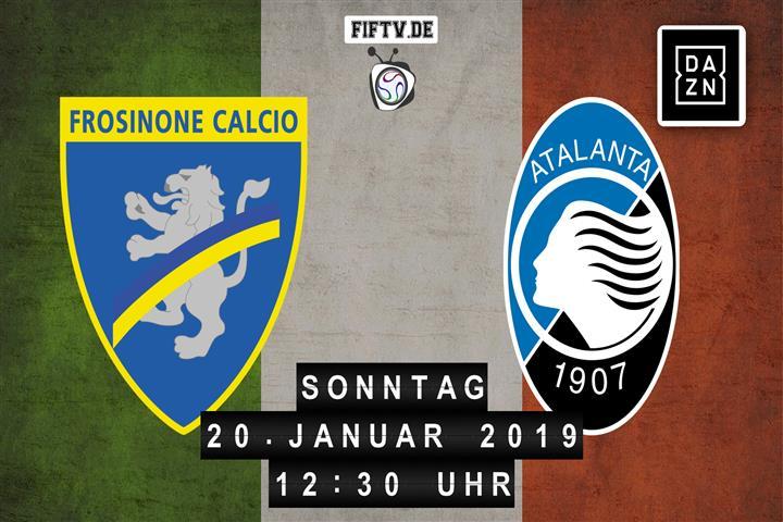 Frosinone Calcio - Atalanta Bergamo Spielankündigung