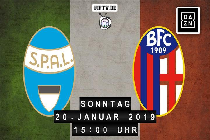 SPAL Ferrara - Bologna FC Spielankündigung