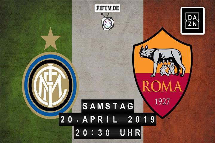 Inter Mailand - AS Rom Spielankündigung